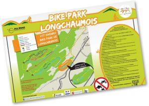 Bike park longchaumois plan